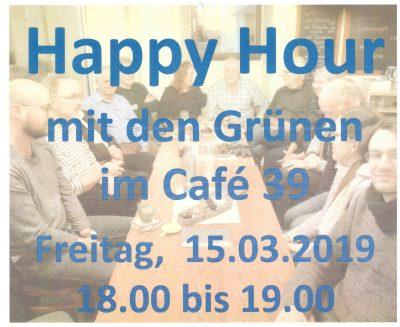 Happy Hour mit den Grünen @ Café 39