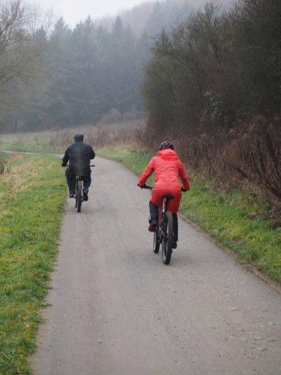 Der Radweg nach Nieder-Modau wird saniert Foto: Reinhard Fliß